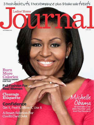 Michelle Obama on cover of Ladies Home Journal