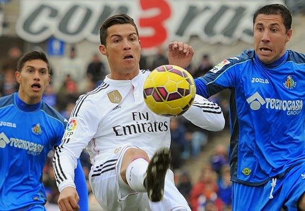 Liga Spanyol : Getafe 0-3 Real Madrid