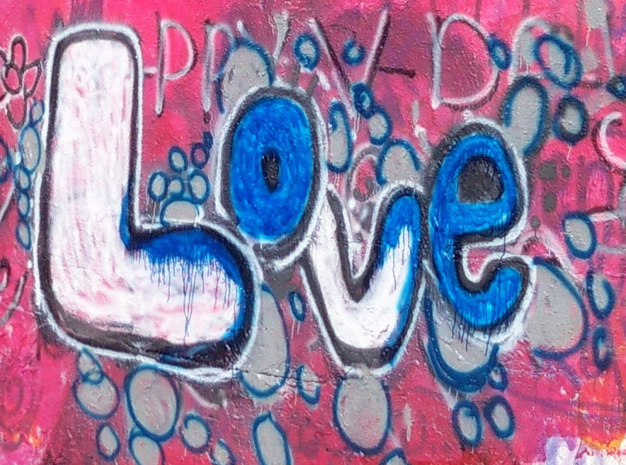 Love Graffiti Images Love graffiti on pensacola sLove Graffiti Images