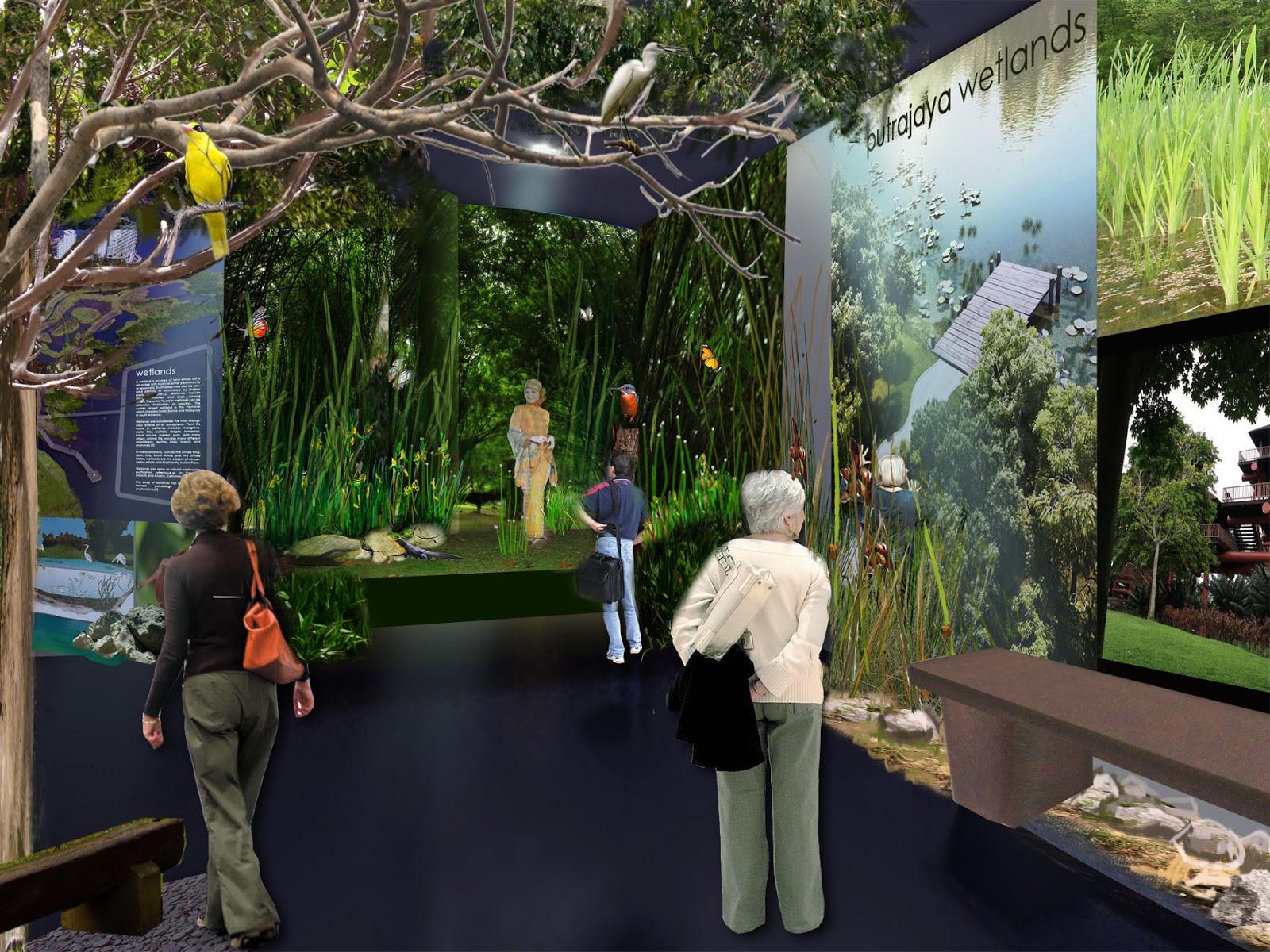 Nature Interpretive Centre N I C Taman Wetland Putrajaya
