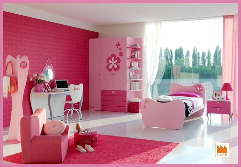 Dormitorios de barbie para ni as dormitorios con estilo for Habitaciones para ninas 8 anos