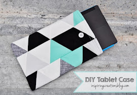 DIY Tablet Case Tutorial