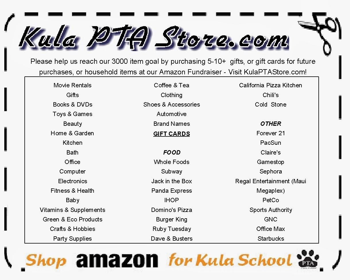Kula PTA Store