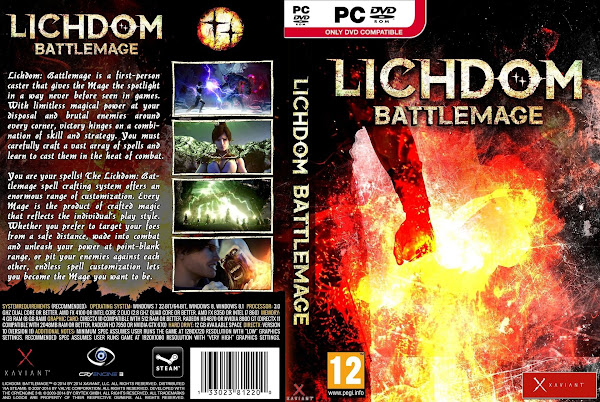 Capa Lichdom Battlemage PC