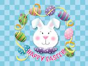 . familias. La Semana Santa de Granátula forma parte de la ruta declarada . easter bunny head wallpaper