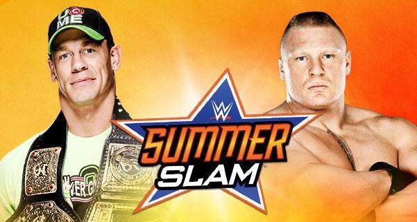 John Cena se enfrenta a Brock Lesnar en un combate hecho realidad para muchos fanaticos de la WWE