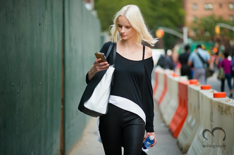 mitograph Irene Hiemstra New York Fashion Week 2014 Spring Summer NYFW Street Style Shimpei Mito