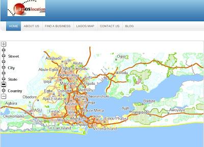 Lagos Online Enterprise GIS portal is more intelligent than Google