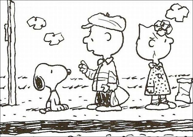 snoopy coloring pages - Free Coloring Pages Printables for Kids
