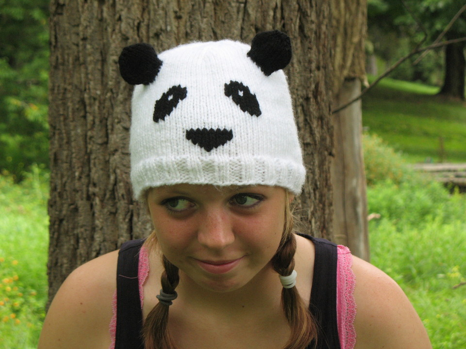 My Knitting Life And Other Stories Panda Hat