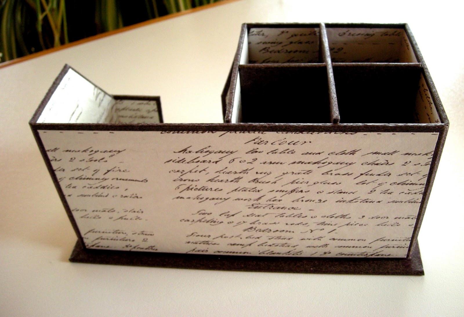 Dagmar 39 s kreativblog schreibtisch utensilo for Schreibtisch utensilo