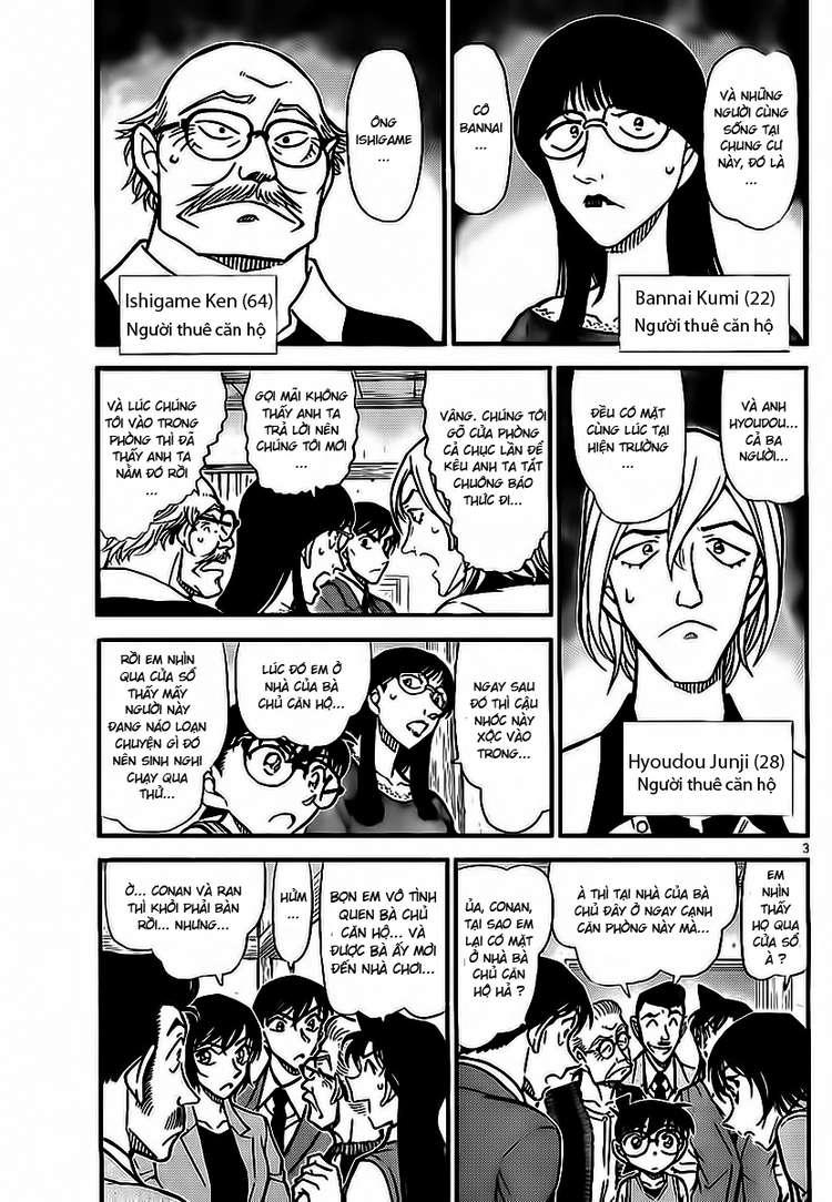 Detective Conan - Thám Tử Lừng Danh Conan chap 788 page 4 - IZTruyenTranh.com