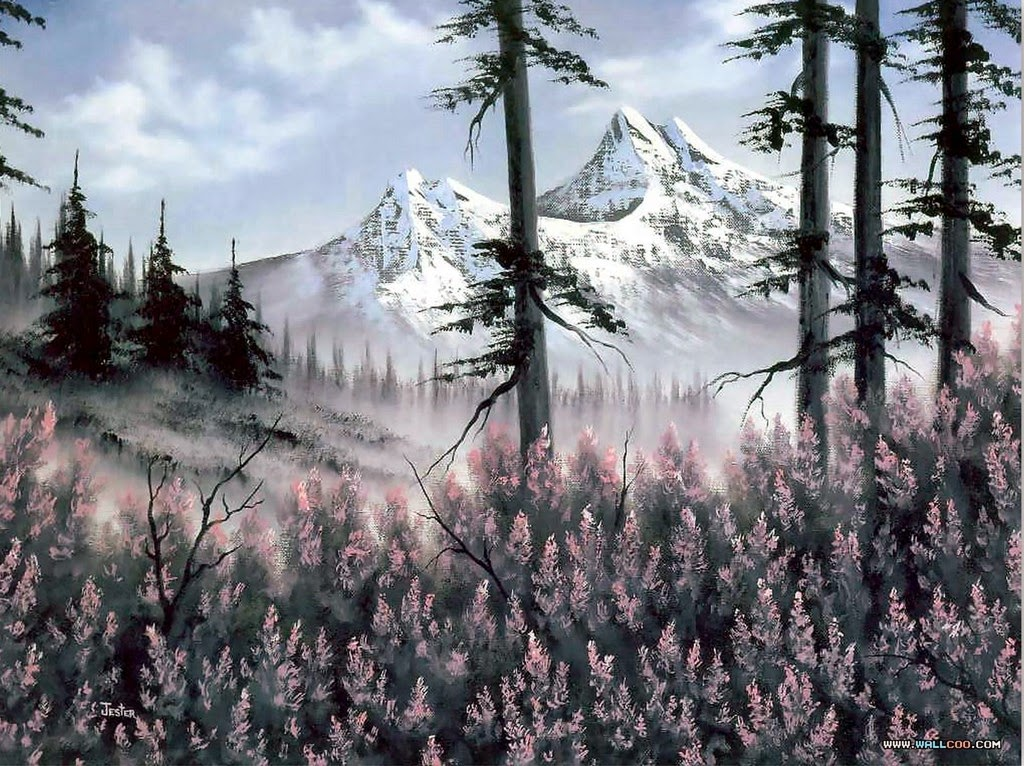 paisajes-al-oleo-de-bob-ross-imagenes