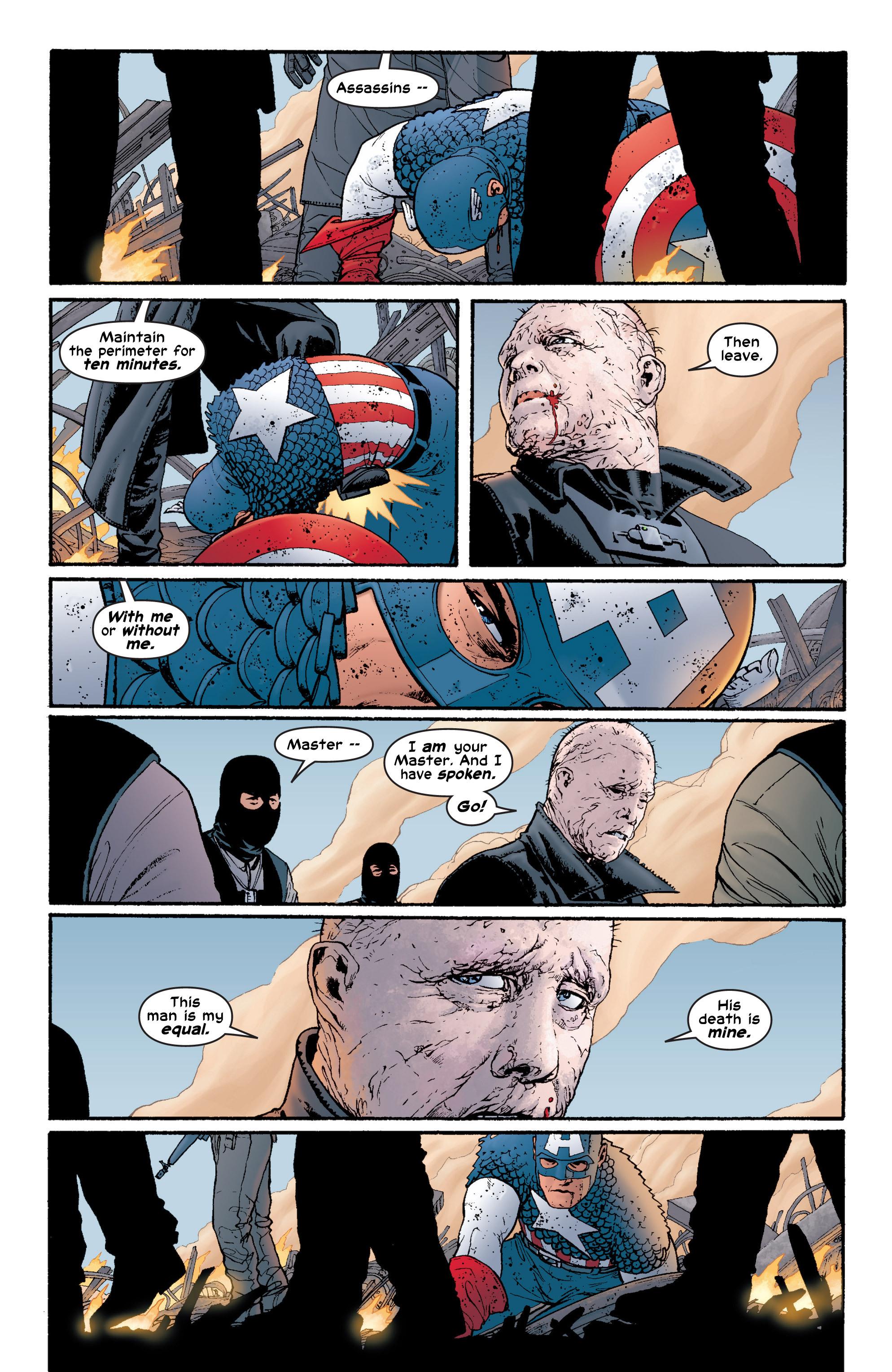 Captain America (2002) Issue #6 #7 - English 14