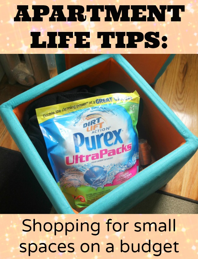 Apartment Life Tips: Shopping for small spaces on a budget Henkels A plus A+ Values #aplusvalues #collectivebias #cbias