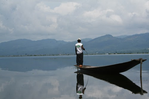 Fisherman on Inle Lake, Burma