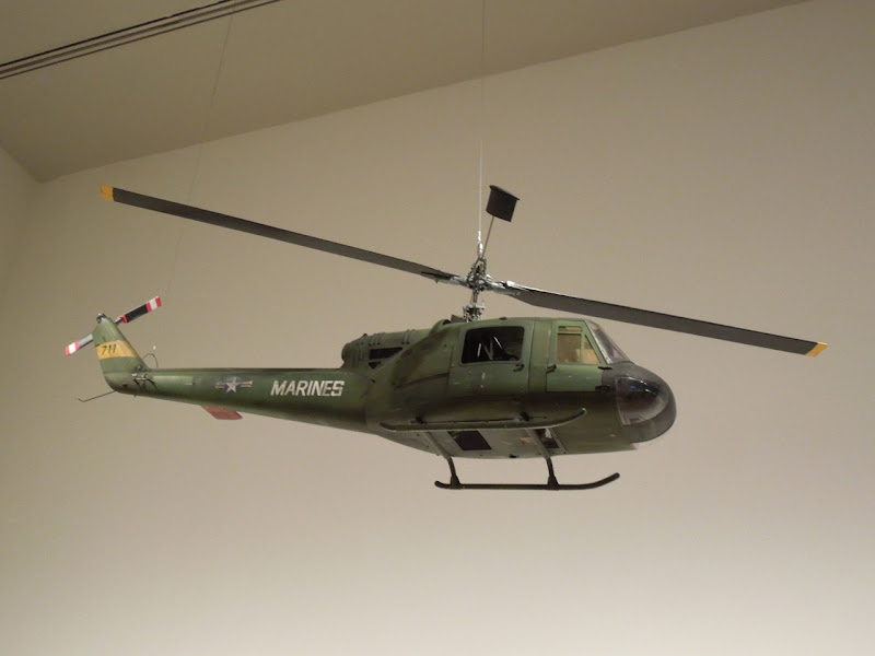 Full Metal Jacket US Army helicopter model LACMA