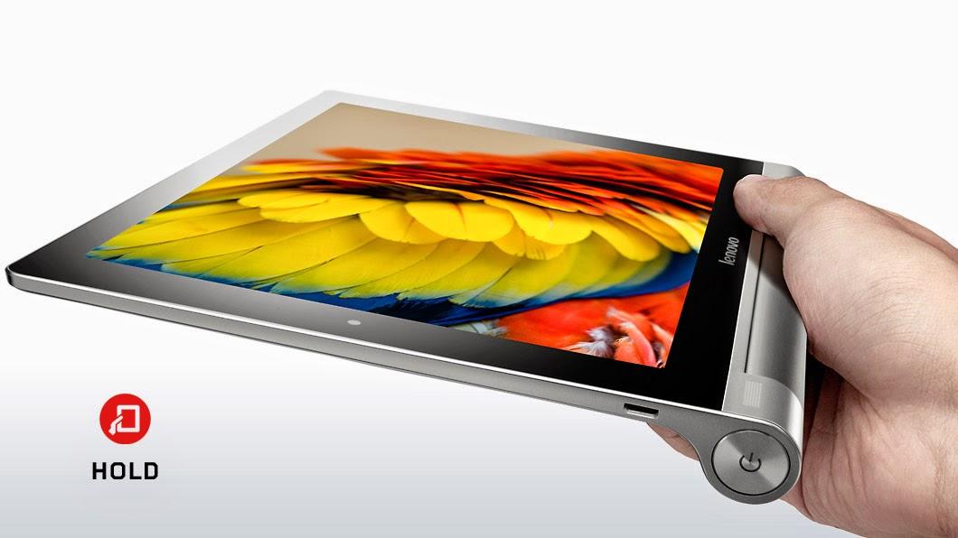 Fitur dan Spesifikasi Lenovo Yoga Tablet 10