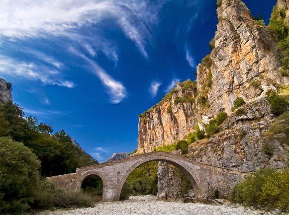 каньон Викос мост