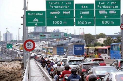 Saman Tertunggak Pemandu Singapura Di Malaysia