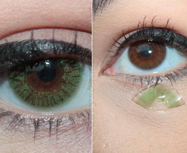 Dark Green Eye Contacts REVIEW - Freshl...
