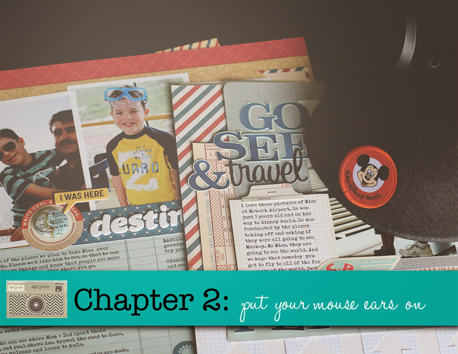 Scrapbook ideas video download - Unfortunately The Video Is No Longer Available But Everything I Created With Ideas And Notes Is Included In A Pdf That You Can Download Here Happy Disney