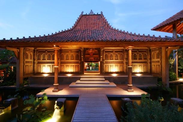 Desain Rumah Joglo Asri dan Indah