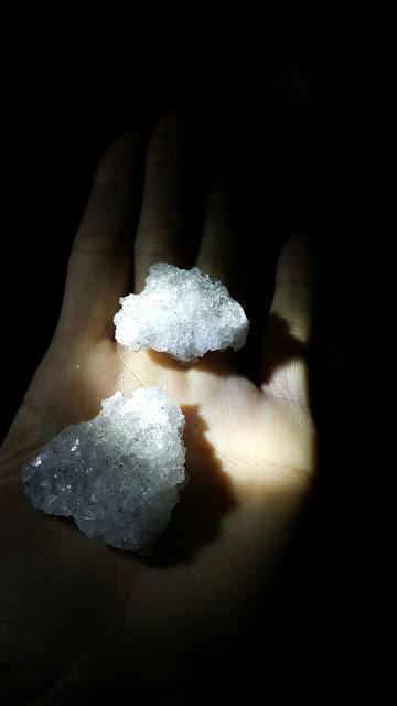 pedra de sal mineradores na catedral de sal zipaquira colombia