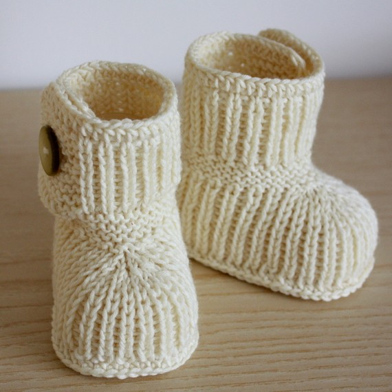 Como tejer unos escarpines a crochet - Imagui