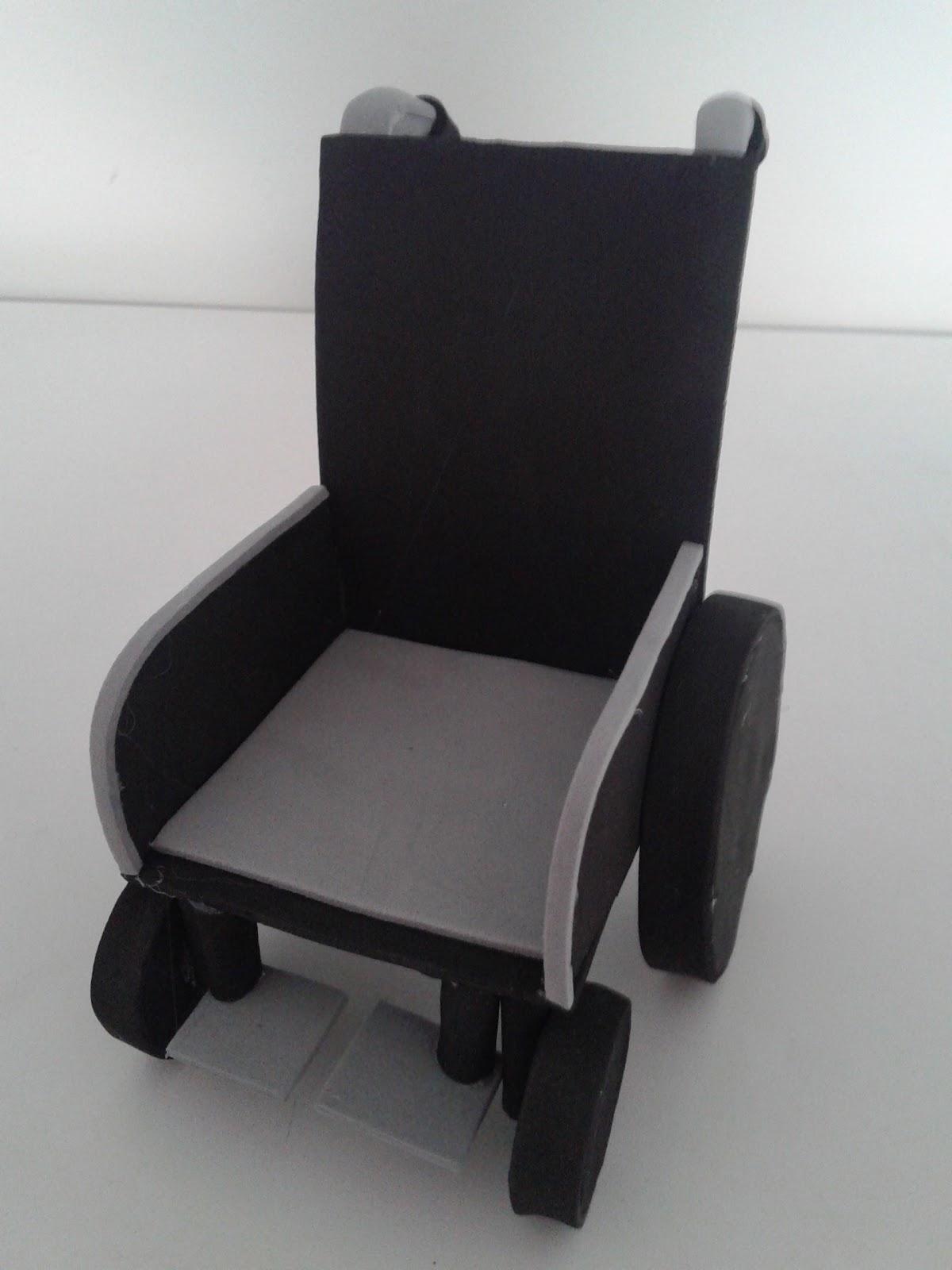 Mis cositas ontinyent silla de ruedas de goma eva - Goma espuma para sillas ...