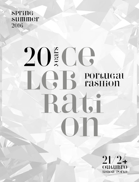 celebration, portugal fashion, 20 anos, cartaz
