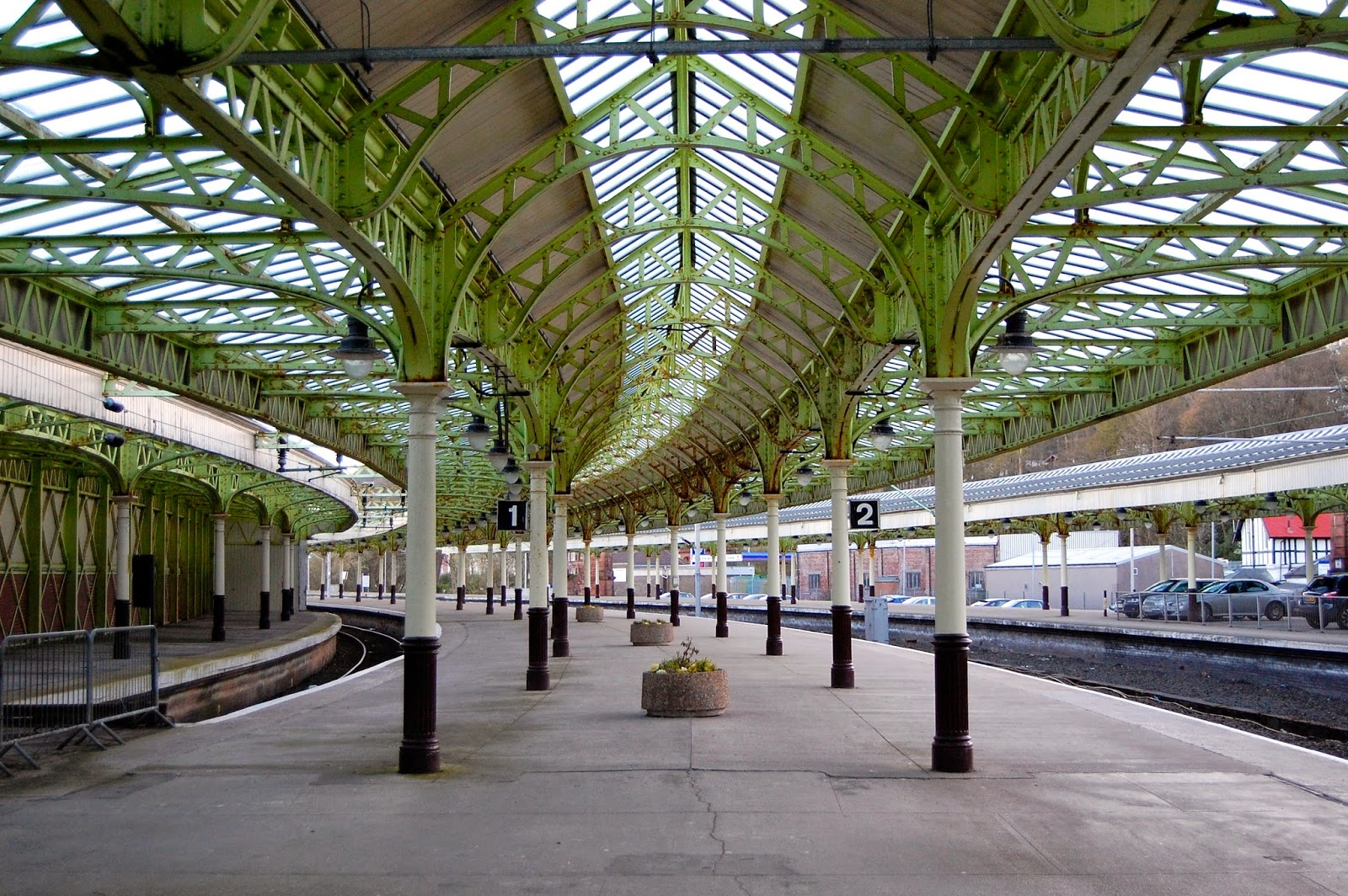 Train station at Wemyss Bay, Scotland