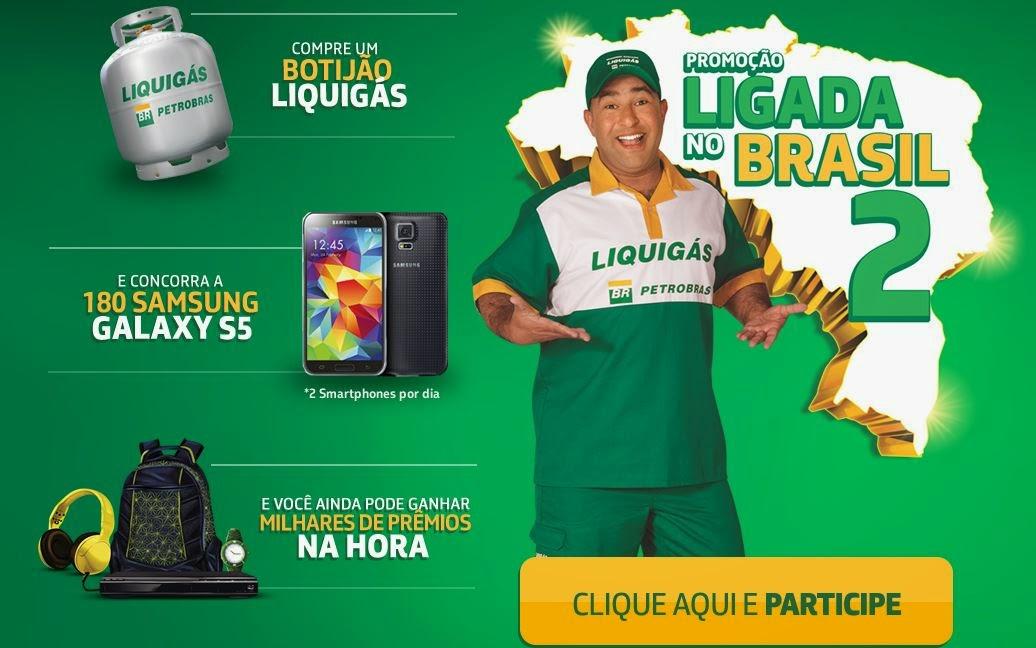 Promoção Ligada no Brasil 2 Liquigás
