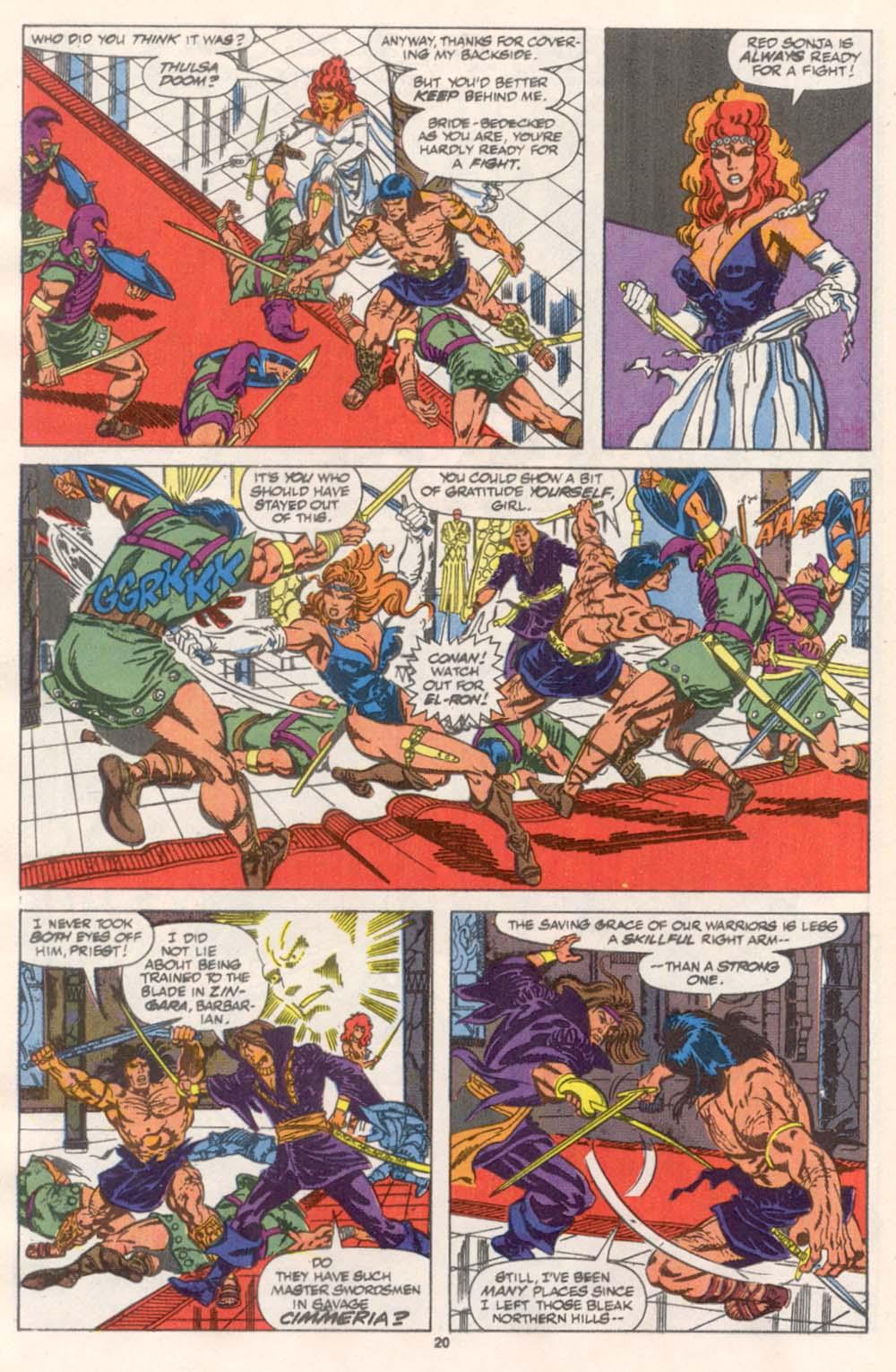 Conan the Barbarian (1970) Issue #243 #255 - English 17