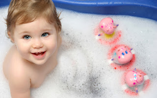 Baby free desktop wallpaper 0003