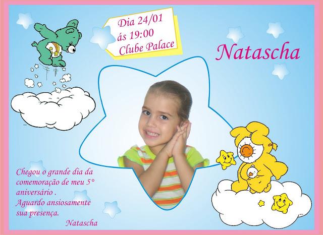 Convite Festa Aniversário Infantil Ursinhos Carinhosos