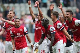 Sebuah keberhasilan Arsenal saat Melawan Tottenham