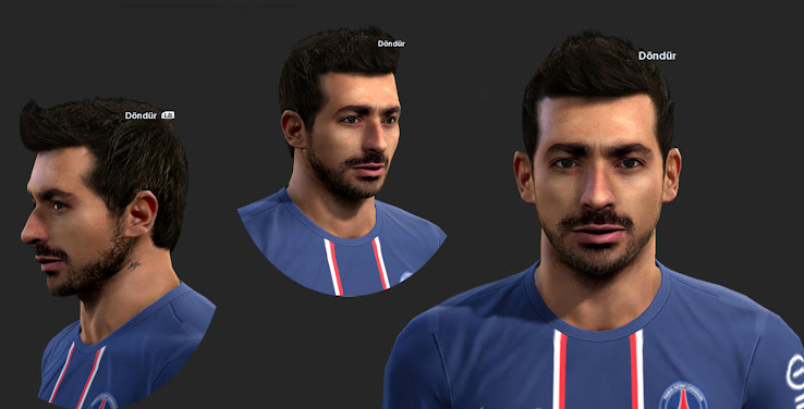 PES 2013 Lavezzi Face by ilhan
