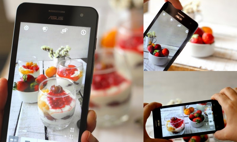 Fruit Cream Recipe with Asus Zenfone 5