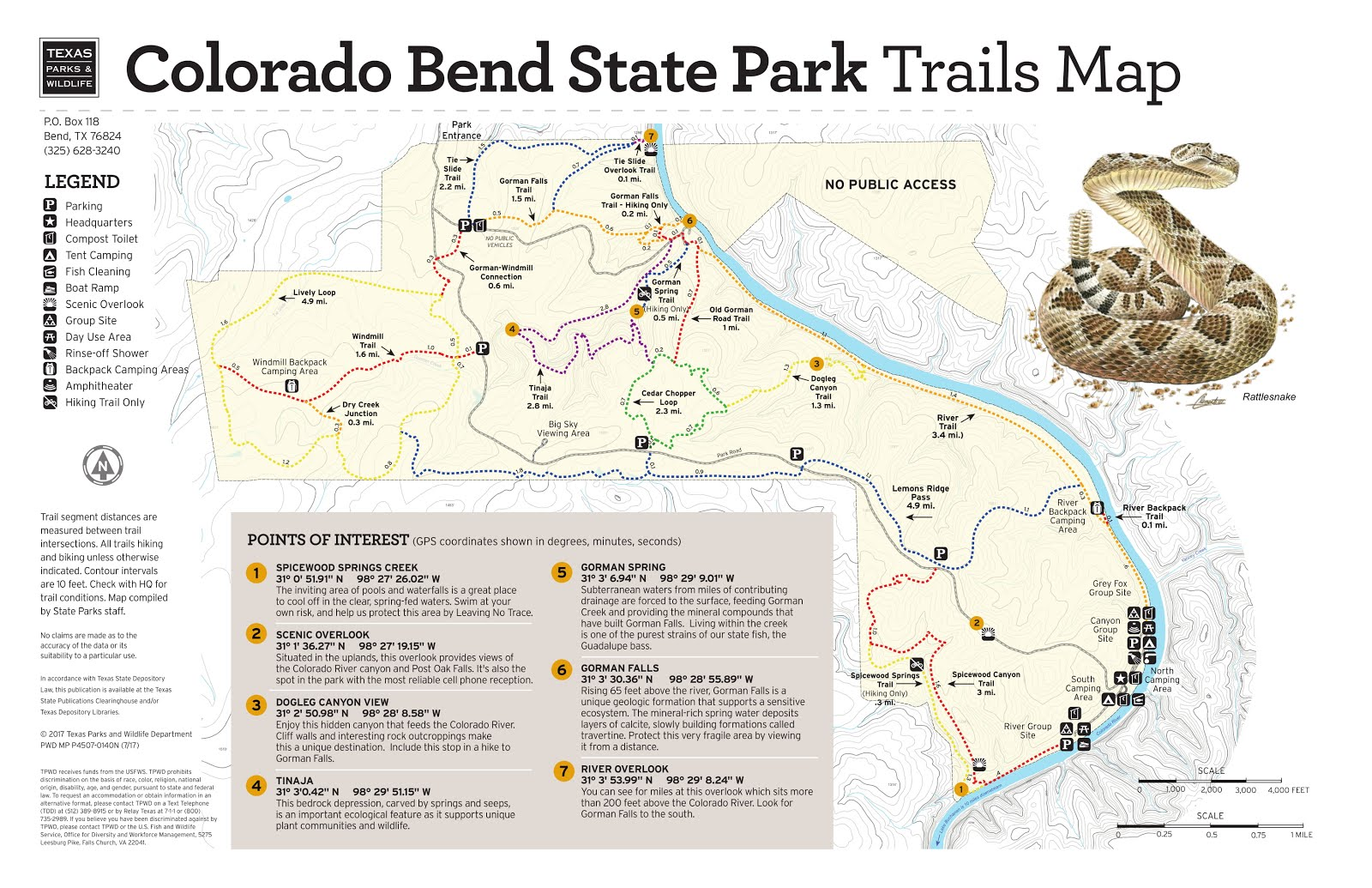 Adventures with BeeGee: Trip Report: Colorado Bend Park