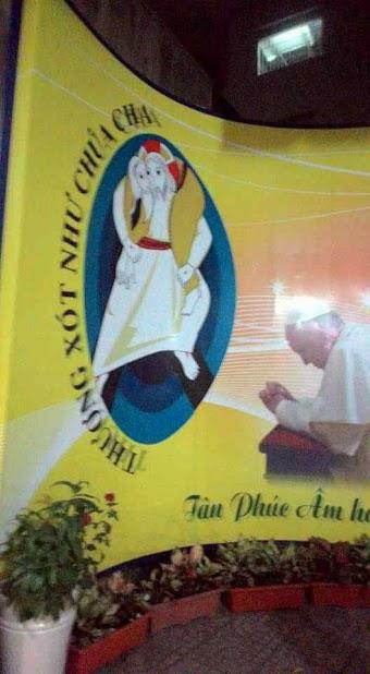 Đức Giáo Hoàng Phanxicô và Logo Lòng Thương Xót