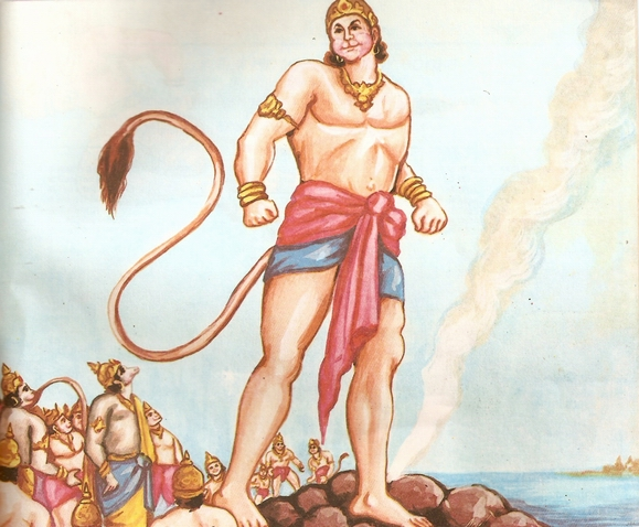 Image result for rama with hanuma-sundara kaanda