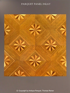 Geometric Components Parquet Panel, Austria