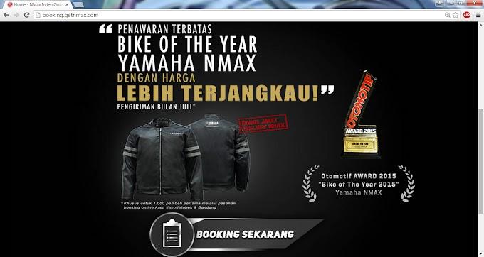 12 Jam Yamaha NMAX Non ABS Hampir Ludes