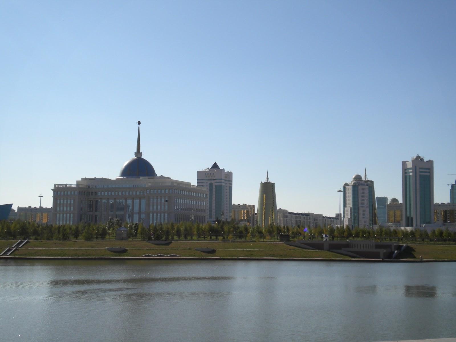 Astana - Ishim, Ak Orda and Majlis
