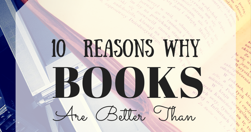 why books are better than tv