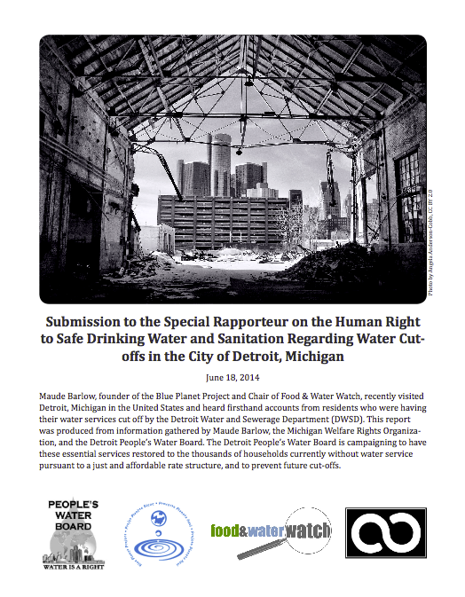 a comprehensive report on the detroit water crisis A crisis in flint, michigan, draws voluminous concern as celebrities and political candidates steer attention to the toxic tap water in the beleaguered city.