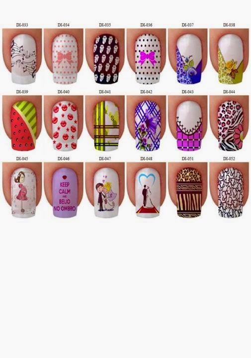 Modelos de u as decoradas con lindos pintados - Paginas web de decoracion ...