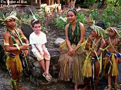 Viajar con niños a Micronesia