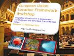 EU Location Framework Műhely elődásai itt tölthetőek le